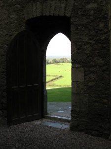 Ireland doorway by Judy Bork