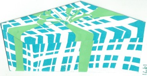 Silk Screened Pandora's Box by Sue
